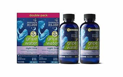 Mommy's Bliss Night Time Gripe Water for Baby's Tummy Trouble, Relieves Occas...