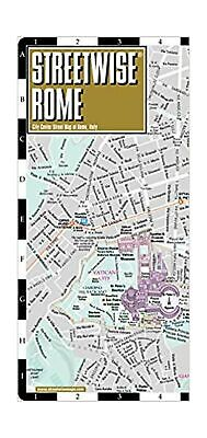 Streetwise Rome Map - Laminated City Center Street Map of Rome, Italy (Michel...