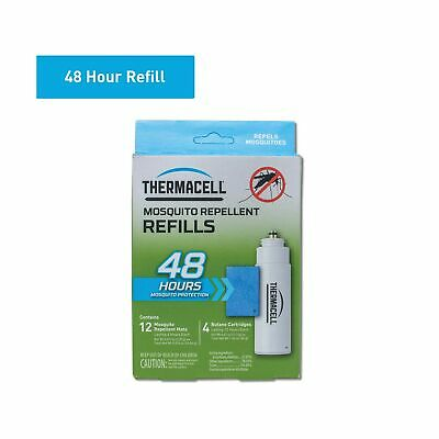 Thermacell Mosquito Repellent Refills, 48-Hour Pack; Contains 12 Repellent Ma...