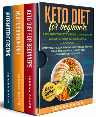 Keto Diet for Beginners + Intermittent Fasting + Mediter PDF EB00k Fast Delivery