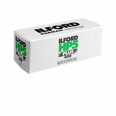 Ilford HP5 Plus Black and White Negative Film ISO 400 (120 Roll Film) 1 Pack