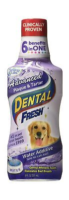 Dental Fresh Water Additive – Advanced Plaque and Tartar Formula for Dogs – C...