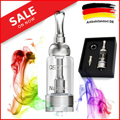 Aspire Nautilus  Verdampfer Clearomizer Tank 5ml  BVC Zigarette Heads Coils