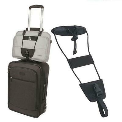 Add A Bag Strap Travel Luggage Suitcase Adjustable Belt Tie Carry On Bungee Easy