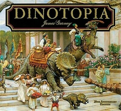 Dinotopia: A Land Apart from Time (Hardback or Cased Book)