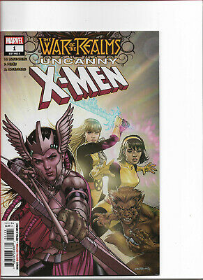 WAR OF THE REALMS - UNCANNY XMEN (2019) #1 - New Bagged (S)