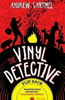 Vinyl Detective - Flip Back by Andrew Cartmel Paperback Book Free Shipping!
