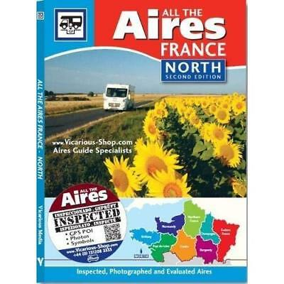 All the Aires France North, 2nd Edition - Paperback NEW Media, Vicariou 10/04/20