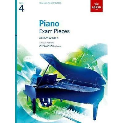 Piano Exam Pieces 2019 & 2020, ABRSM Grade 4 - Sheet music NEW  07/06/2018