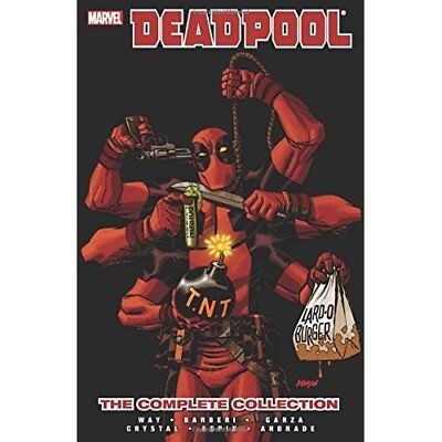 Deadpool by Daniel Way: The Complete Collection Volume  - Paperback NEW Way, Dan