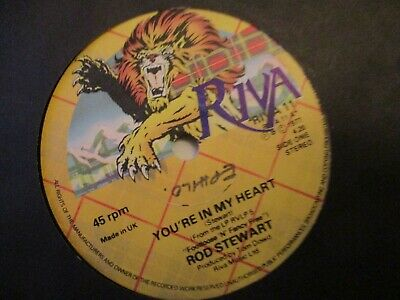 Rod Stewart - You're In My Heart / You Really Got A Nerve - Vinyl 45 -1977