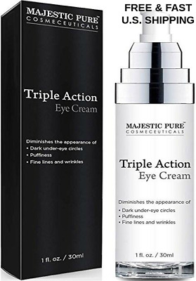 TRIPLE ACTION Eye Cream Lighten Whitening Dark Areas Anti-Ageing BRIGHTENING