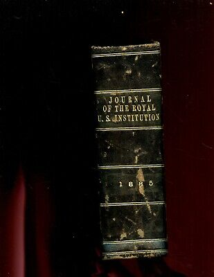 Journal of the Royal United Service Institution, vol - 28,  1885 , 1 vol. ,1st