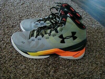 1dd48f26842 UNDER ARMOUR STEPH Curry Two 2 Shoes TB SC30 Sharpens Iron Size 9 ...