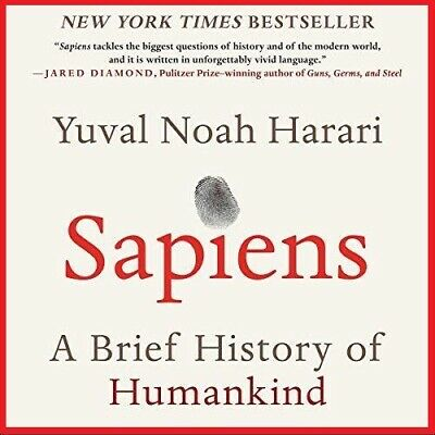 Sapiens A Brief History ... By Yuval Noah Harari (audio book, e-Delivery)