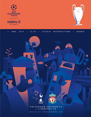 UEFA CHAMPIONS LEAGUE FINAL 2019 Liverpool v Tottenham includes TWO LFC posters