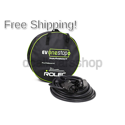 EV / Electric Vehicle Charging Cable | Type 1 to Type 2 | 32 Amp(7.2kW) | 10 ...