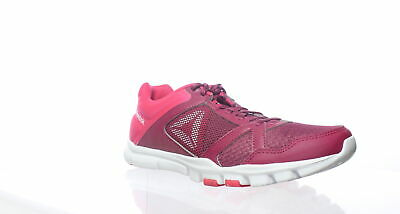 Reebok Womens Yourflex Trainette 10 Mt Pink Cross Training Shoes Size 9.5