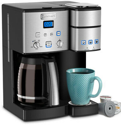 Cuisinart SS-15 Coffee Center 12-Cup Coffee Maker And Single Serve Brewer NEW