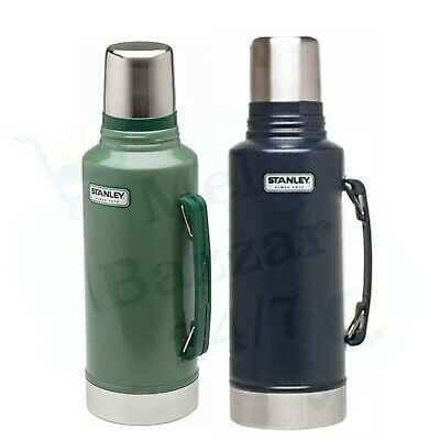New Stanley 1.9L Thermos Flask Insulated Vacuum Stainless Steel Classic Bottle