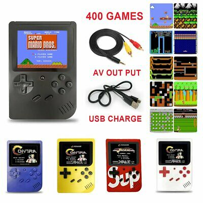 """NEW Handheld Game Console 3.0"""" Retro TFT TV Game 400 Games Portable Game Players"""