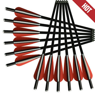 12X Fiberglass Crossbow Bolts Hunting Arrows /Crossbow Rope hunting accessories