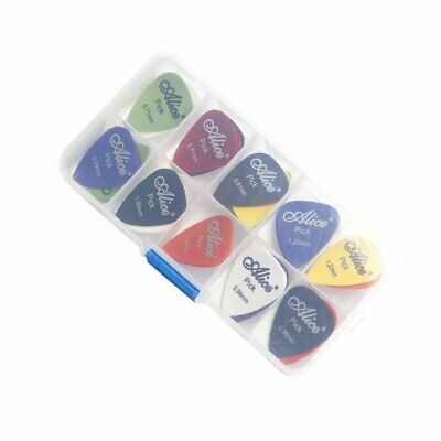 24/50/100Pcs Multicolor Acoustic Electric Guitar Picks Plectrums Thin KS
