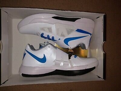 best authentic f8ba8 0a576 Nike Zoom KD 4 IV CT16 QS Thunderstruck White Blue Size 9.5 AQ5103 100 NEW