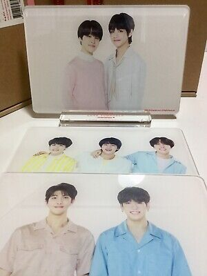 BTS LOVE YOURSELF SPEAK YOURSELF World Tour Official Merchandise PHOTO FRAME SET