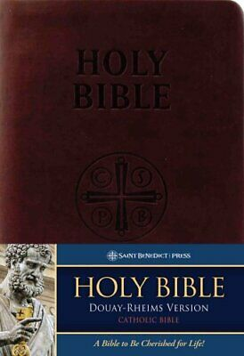 Catholic Bible-OE: Douay-Rheims by (D-R) (Leather / fine binding, 2000)
