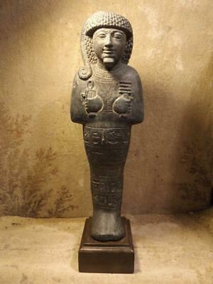 Egyptian statue Ushabti / Shabti of Prince Khaemwaset 19th dynasty.Son of Ramses