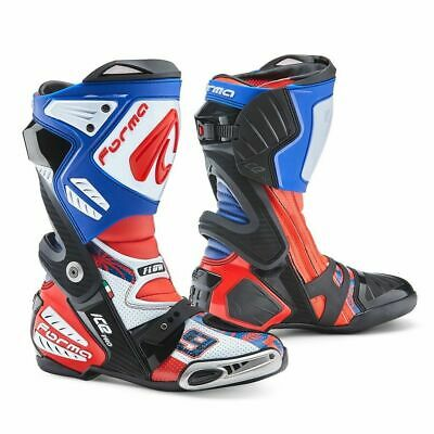 Forma Ice Pro Flow motorcycle boots, mens, petrucci street road racing sports