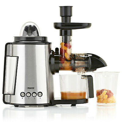 Homgeek Slow Juicer Electric Juice Extractor Juice Maker Low Speed Juice E9E7