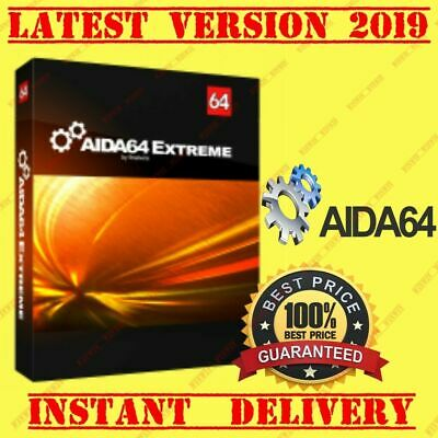 AIDA64 Extreme 5.97| FULL VERSION 2019| License key for multiple pc,s