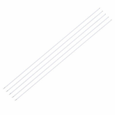 Wrapping Wire Tin Plated Copper Wire 24AWG 200mm Length White 100pcs