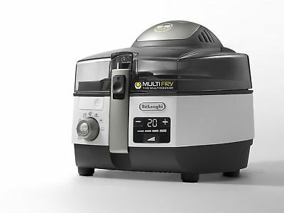 DeLonghi Multifry Extra Chef Plus FH 1396/1 Heißluftfritteuse Multicooker 1400 W