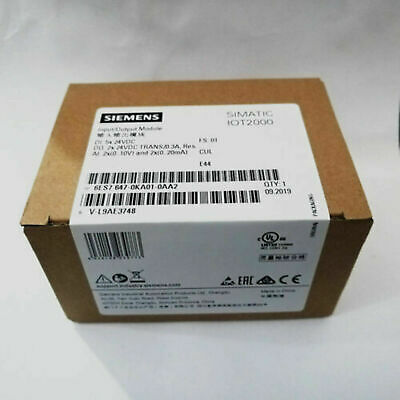 1PC New IN BOX Siemens SIMATIC IOT2000 PLC I/O Module 6ES7647-0KA01-0AA2