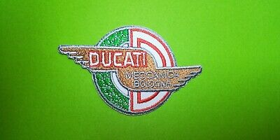 A088 // Ecusson Patch Aufnaher Toppa / Neuf / Ducati Bologna / 11*7 Cm