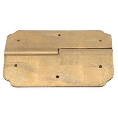 Vintage Chinese Style Brass Hinges Door Hinge Wooden Furniture Jewelry Box Z