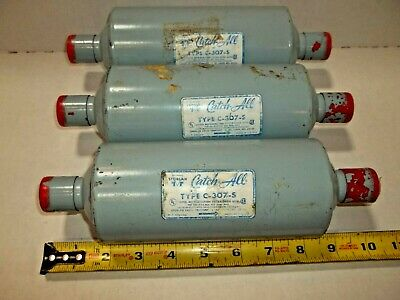 Lot Of 3 Nos Sporlan Catch All Type C-307-S Filter Line Drier