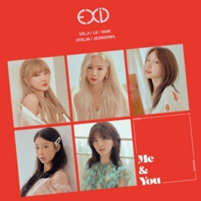 EXID: ME&YOU* Photo book 1+CD+ Photo Cards+Poster (CD, Sony Music) Album K-POP