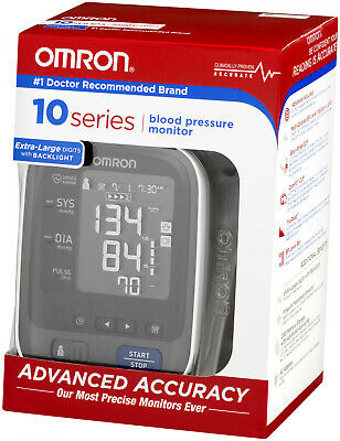 Omron Digital 10 Series Upper Arm Blood Pressure Monitor w/ Cuff, Battery or A/C