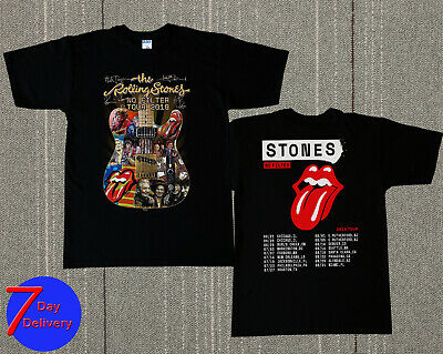 Rolling Stones New Dates 'No Filter' Tour 2019 T-shirt tee S - 2XL
