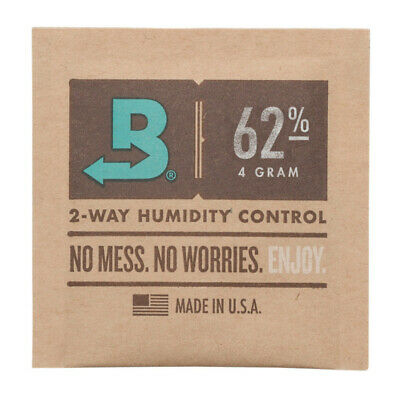 Boveda 4-Gram Humidity Pack (62% RH, Single Unit)