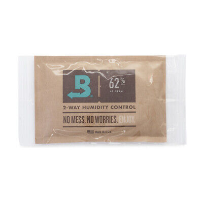 Boveda 67-Gram Humidity Pack (62% RH, Single Unit)