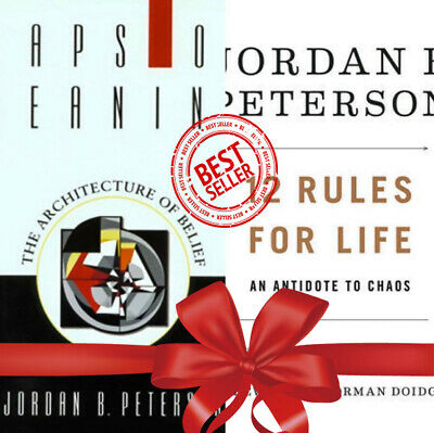 12 Rules for Life :An Antidote to Chaos + Maps of meaning Jordan Peterson [GIFT]