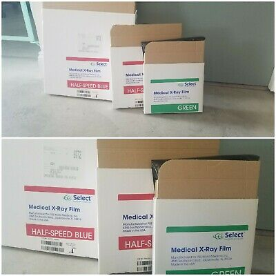 Medical X Ray Film Three sizes.