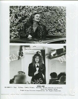 Speed Zone-8X10-Promo-Brooke Shields-Donna Dixon Vg