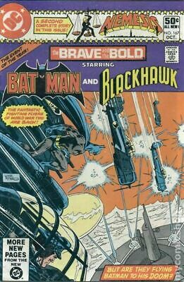 Brave and the Bold (1st Series DC) #167 1980 VG Stock Image Low Grade