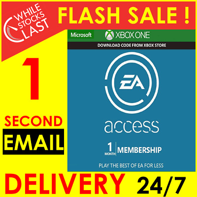 Instant Delivery - EA Access 1 Month Membership Subscription Xbox One WORLDWIDE